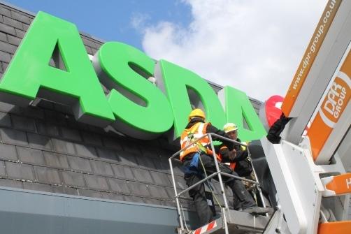 Asda Store Roof Repair 1