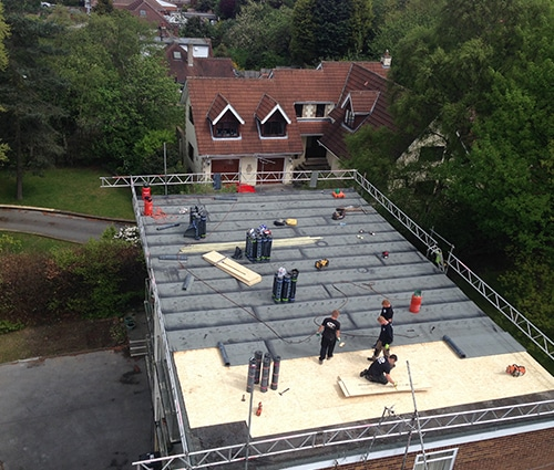 Commercial Flat Roof Wakefield