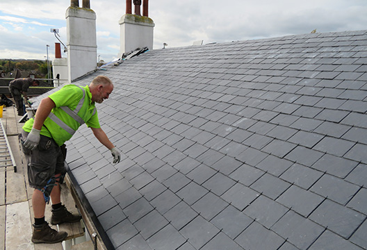 specialist tiling and slate roof service